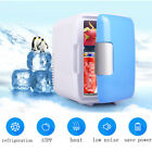 12V 4L Portable Mini Fridge Thermoelectric Cooler/Warmer Car Travel Ice Box Blue