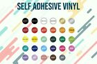 Glossy Adhesive backed Vinyl for Silhouette Cameo Cricket Cutting 24