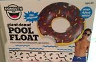 BIG MOUTH INC GIANT CHOCOLATE FROSTED DONUT SWIMMING POOL FLOAT RAFT 4 FEET