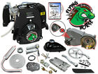 49cc 4 Stroke Flying Horse 5G Pull Start Bicycle Engine Kit Motorize Bike 50cc