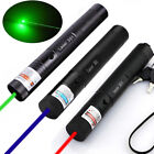 3Pcs 50Miles Red+Green+Blue Purple Laser Pointer Pen Visible Beam Light Lazer