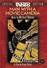 Man With A Movie Camera DVD Multiple Formats Black  White Ntsc Silent NEW