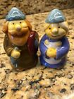 Salt and pepper shakers Viking couple