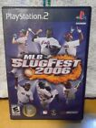 MLB SLUGFEST 2006  (PLAY STATION PS2) WITH CASE AND MANUAL