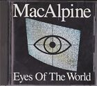 MacAlpine Eyes Of The World Japan 1st CD 1990 PHCR-1001