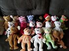 Beanie Baby lot of 19 many rare and many with errors all in great shape