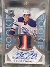 2015-16 The Cup Connor McDavid Rookie Patch Auto. Card # 99 (Oilers)