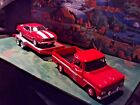 124 Scale Diecast3 pcSet Red 66 Chevy C 10 68 Chevy Camaro