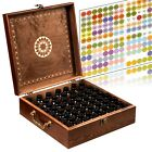 Beautiful Essential Oil Box 62 Bottle With 2 Carry Handles Holds 5 30ml