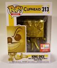 Funko Pop Games # 313 Cuphead Gold King Dice E3 Exclusive 2018 Brand New
