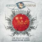 SECRET SPHERE One Night In Tokyo + 1 DELUXE EDITION JAPAN 2CD + DVD Vision w/tr#
