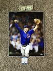 Kris Bryant Chicago Cubs 2016 World Series Final Out Signed Huge Auto 16x20 COA