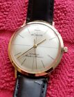 Jaeger LeCoultre Master Mariner 14k Solid Automatic 1200 Rare Vintage Excellent