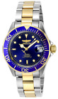 Invicta Pro Diver Men's Chronograph Automatic Watch with Stainless Steel Bracele