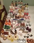 Vintage 46 Salt And Pepper Shaker Collection Lot Worldwide 1940s And On Antique