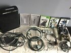 X-Box 360 BUNDLE!  Games, instructions, controllers, + MORE!