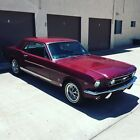 1966 Ford Mustang GT 1966 Ford Mustang GT 4 Spd Matching #'s 289cid 4V 225hp HiPo Rally Pack AC RARE