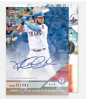 2018 Topps Now AUTO #336B ON-CARD AUTOGRAPH # TO 49 - JOSE TREVINO RANGERS