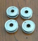 Set of 4 Vintage WHITE, DOMESTIC, KENMORE Rotary Sewing Machine 1 inch Bobbins