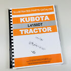 KUBOTA L4150DT TRACTOR PARTS ASSEMBLY MANUAL CATALOG EXPLODED VIEWS NUMBERS