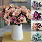 Artificial Flowers Silk Daisy Fake Plants Wedding Bride Bouquet Home Party Decor