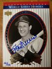 2003 Upper Deck World Series Heroes 12 25 Stan Musial Auto #25 Buy Back
