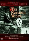 Parsons Widow  Three Films By Carl Theodor Dreyer DVD Multiple Formats VG