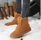3 Color Fashion Men's Winter Warm Casual High Shoes Ankle Snow Bootss Size6 5-10