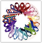 USA Made Awareness Ribbons w Pins Many Colors Available