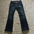 Seven 7 For All Mankind Womens Jeans 28 Blue Dark Wash Denim Straight Leg