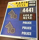 LEGO  4441 CUSTOM STICKERS For THE MINE SHIPS RIGHT WHEN U ORDER