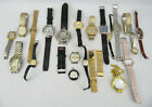 Lot of  27 VINTAGE WATCH Timex Bugle Klein Guess Gucci Seiko Ormo Repair Parts