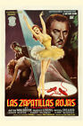The Red Shoes 1948 Spanish Movie Poster