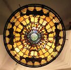 Tiffany Style Stained Glass Pendant Chandelier, Lighting, Hanging Lamp, 20