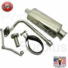 QMB139 49cc 50cc 4 stroke Performance Exhaust Scooter Oval Exhaust HS190 47