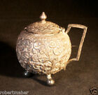 Antique Silver Incredibly decorated Covered Sugar Bowl MAKE ME AN OFFER!!!
