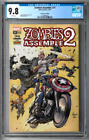 Zombies Assemble 2 #1 CGC 9.8 (Oct 2017, Marvel) Stan Lee Box variant