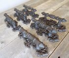 6 Door Barn Cast Iron Gate Pull Shed Handle Rustic Antique Style Handles 6 1/2