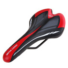 PU Leather Cycling Bicycle Mountain Road MTB Ride Seat Saddle Mat Bike Parts