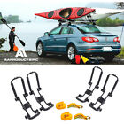Double Folding Kayak Roof Rack J Bar Car Truck Top Mount Carrier Canoe Boat Surf