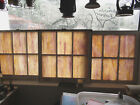 VINTAGE Antique STAINED GLASS WINDOWS FROM CHURCH RARE 32 x 30 6 Panes