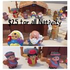 Fisher Price Little People Childrens Nativity Set 2002 1st Christmas Baby Jesus