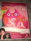 Anerican Girl Doll Crafts Sew & Stuff Felt Owls one for you-one for doll 50pcsA9