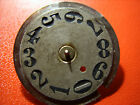 Antique,dial to mark the minutes schedule ,for big clok