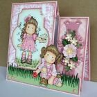 Hot Lovely Girl Stamps Metal Cutting Dies Stencils Scrapbooking Cards DIY Crafts