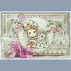 Lovely Girl Transparent Clear Rubber Stamp Silicone Scrapbooking DIY Album Decor