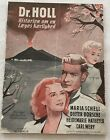 Dr. Holl Maria Schell Dieter Borsche Hatheyer Vintage 1951 Danish Movie Program