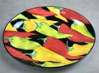 PERFECT Hand Painted Caliente by Clay Art OVAL SERVING PLATTER BOWL 17 3 8