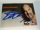1998 Topps WCW nWo BILL GOLDBERG Autograph Auto Card WWE Hall Of Fame RESIGNED