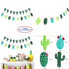 Cactus Felt Banner Garland No DIY Required 2 Pack Fiesta Taco Party Decor Hawai